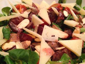 Watercress salad & manchego cheese